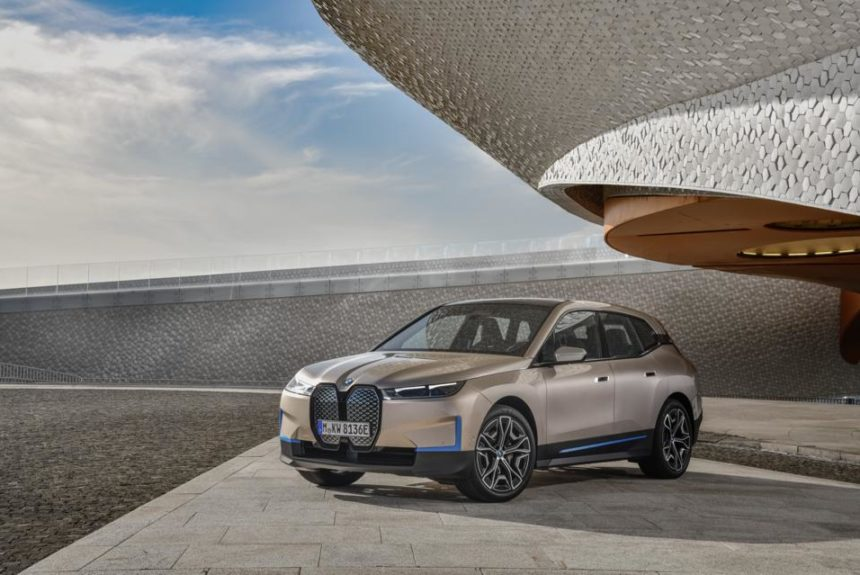 BMW Jumps Into Electric SUV Race With 2022 iX
