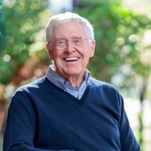 Charles Koch congratulates Biden and says he wants to work together on 'as many issues as possible'