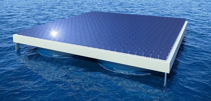 The Race Is On for Commercial Deployment of Solar in Open Seas
