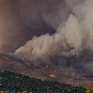 Large wildfires have burned more than 1 million acres in a dozen states